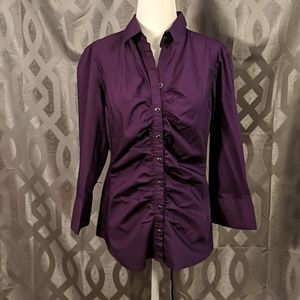 NY&Co Button Down Blouse